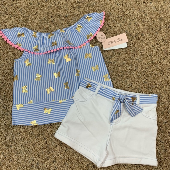 Little Lass Two-Piece Outfit, Size 5